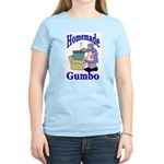 New Orleans Food: Gumbo Women's Pink T-Shirt