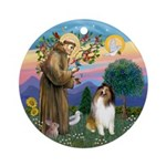 Stfrancis - Collie (Sw) Ornament (Round)