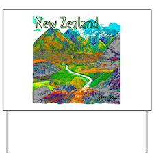 New Zealand Yard Sign