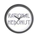 RATIONAL HEDONIST  Wall Clock