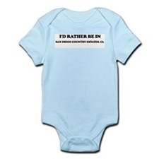 Rather: SAN DIEGO COUNTRY EST Infant Creeper