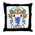 O'Brennan Coat of Arms Throw Pillow