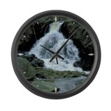Large Wall Clock Water Fall at Harpers Ferry numbe