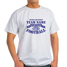 PERSONALIZED FANTASY FOOTBALL NAVY T-Shirt