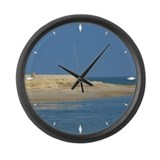 Large Wall Clock Sandy Point