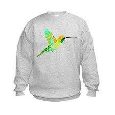 Lemon Lime Sorbet Hummingbird Sweatshirt
