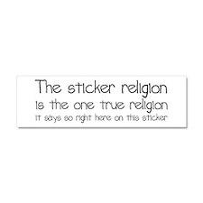 Sticker Religion Car Magnet 10 x 3