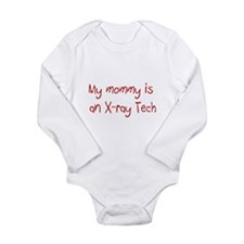 Cute X ray tech Long Sleeve Infant Bodysuit