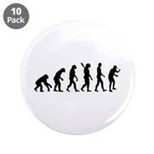 """Table tennis evolution 3.5"""" Button (10 pack)"""