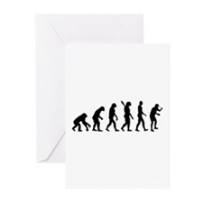 Table tennis evolution Greeting Cards (Pk of 20)