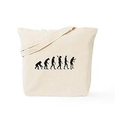 Table tennis evolution Tote Bag
