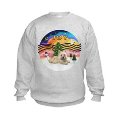 XMusic2-Cairn T(#4) Kids Sweatshirt