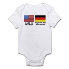 German American Infant Creeper