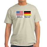 German American Ash Grey T-Shirt