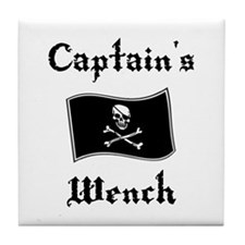 Captain's Wench Tile Coaster
