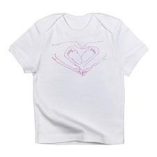 Baby feet love Infant T-Shirt