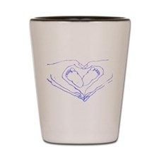 Baby Love Blue Shot Glass