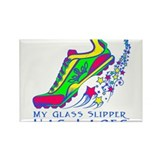 Running Shoe Rectangle Magnet