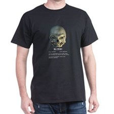 Black Alien Skull T-Shirt