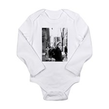 5th Avenue Stroll Long Sleeve Infant Bodysuit