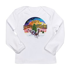 XMusic2 - Two HL Cresteds Long Sleeve Infant T-Shi