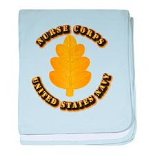 Navy - Nurse Corps baby blanket