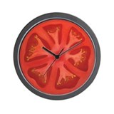 Tomato Wall Clock