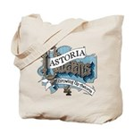 Growing Up Astoria 4th REUNION logo Tote Bag