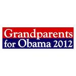 Grandparents for Obama 2012 Bumper Sticker