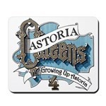 Growing Up Astoria 4th REUNION logo Mousepad