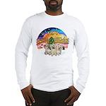XMusic2 - Three Cairns Long Sleeve T-Shirt