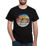 XMusic2 - Three Cairns Dark T-Shirt