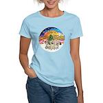 XMusic2 - Three Cairns Women's Light T-Shirt