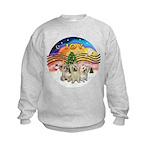 XMusic2 - Three Cairns Kids Sweatshirt