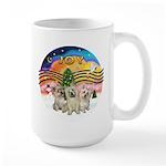 XMusic2 - Three Cairns Large Mug
