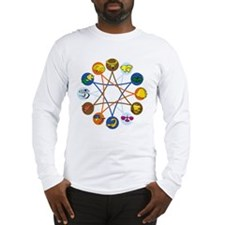 Cute Astrology Long Sleeve T-Shirt