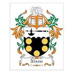Nixon Coat of Arms Small Poster
