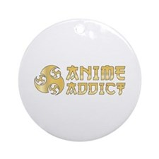 Anime Addict Ornament (Round)