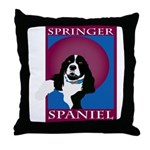 SPRINGERSPANIAL11.png Throw Pillow