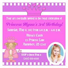 Princess Girls Invitation Invitations