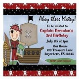 Pirate birthday Invitations & Announcements