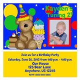 Baby boy 1st birthday invitations Invitations & Announcements