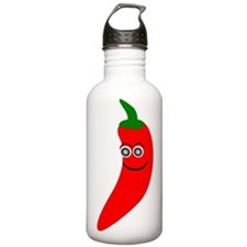 Red Chili Pepper Sports Water Bottle