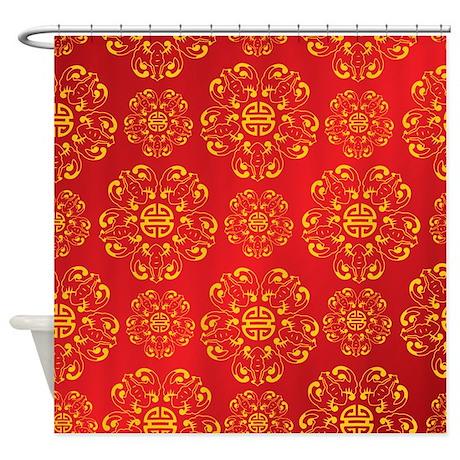 Asian Inspired Shower Curtain By Bestshowercurtains