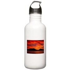 Red Sunset Water Bottle