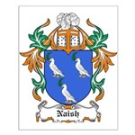 Naish Coat of Arms Small Poster