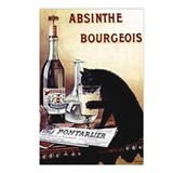 Vintage Chick Absinthe Bourgeois Postcards (Packag