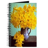 Vintage Chick Daffodils Journal