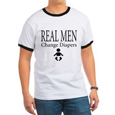 Real Men Change Diapers T T-Shirt