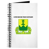 519th Military Police Battalion with Text Journal